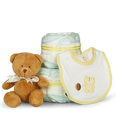 Classic Baby Shower Nappy Cake