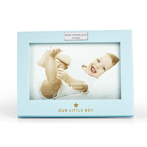 Our little boy photo frame