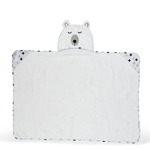 Polar Bear Hooded Towel