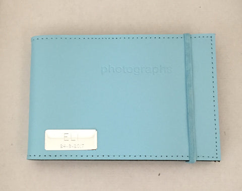 Blue Leather Brag Book