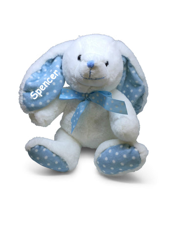 Buggsy The Boy Personalised Bunny