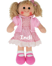 Pink and Pretty Personalised Doll