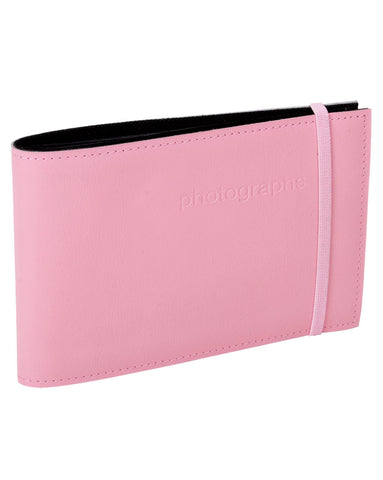 Pink Leather Brag Book