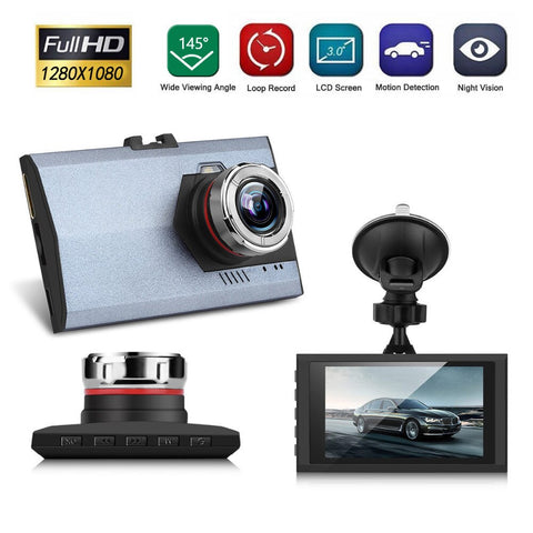 1080P Night Vision HD G-sensor Car DVR Vehicle