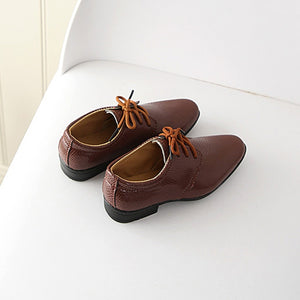 Boy's Leather Shoes