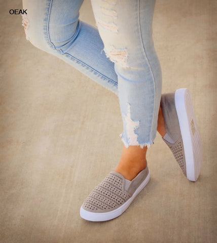 Spring Slip On Sneakers Shallow Loafers Women