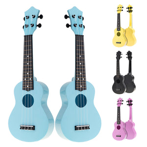 21 Inch Colorful Acoustic Ukulele 4 Strings Hawaii Guitar