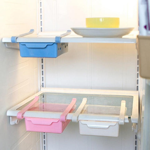 Creative Slide Refrigerator Spacer Layer Saver