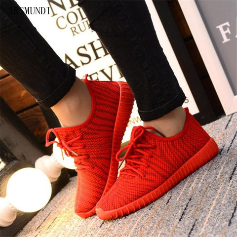 Fashion Breathable Women Sneakers Plus Size Casual