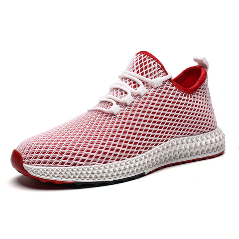 Mens Mesh Flats Summer Sneakers  Fashion Casual