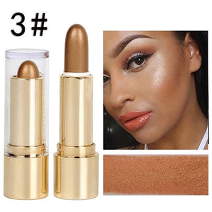 NEW 3 Colors Face 3D Contour Highlighter Bronzer