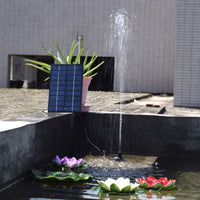 Solar Brushless Pump Floating Fountain