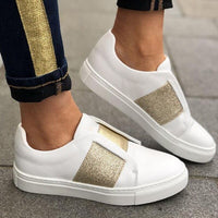 Sneakers Vulcanized Shoes Woman Shallow