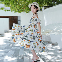 Girls Butterfly Dress