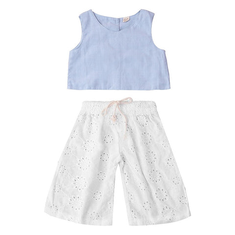 2 PCs Girls Outfit