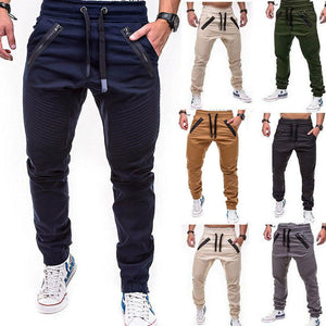 New Fashion Men's Slim Fit Urban Straight Leg Trousers