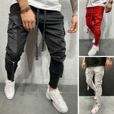 Men's Slim Fit Skinny Trousers