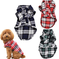 Pet Plaid Shirt