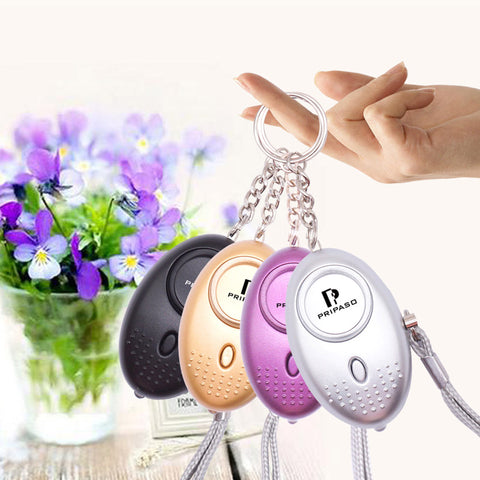 Self Defense Alarm Security Protect Alert Personal Safety Scream Loud Keychain Emergency Alarm
