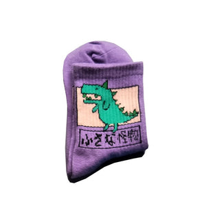 Animal Dinosaur Socks