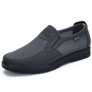 Mesh Breathable Slip-On Flats
