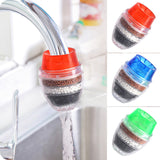 Kitchen Faucet Tap Water Purifier 5 Layers Activated Carbon Filtration