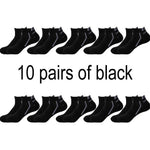 10 Pair Ankle Socks Breathable Cotton