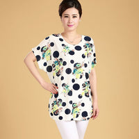 Women Casual Blouses Short Sleeve