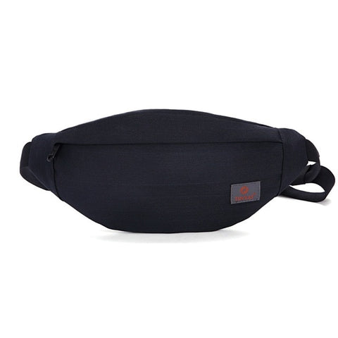 Casual Functional Belt Bag Canvas Hip Fanny Pouch