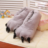 Warm Soft indoor Slippers Paw Plush