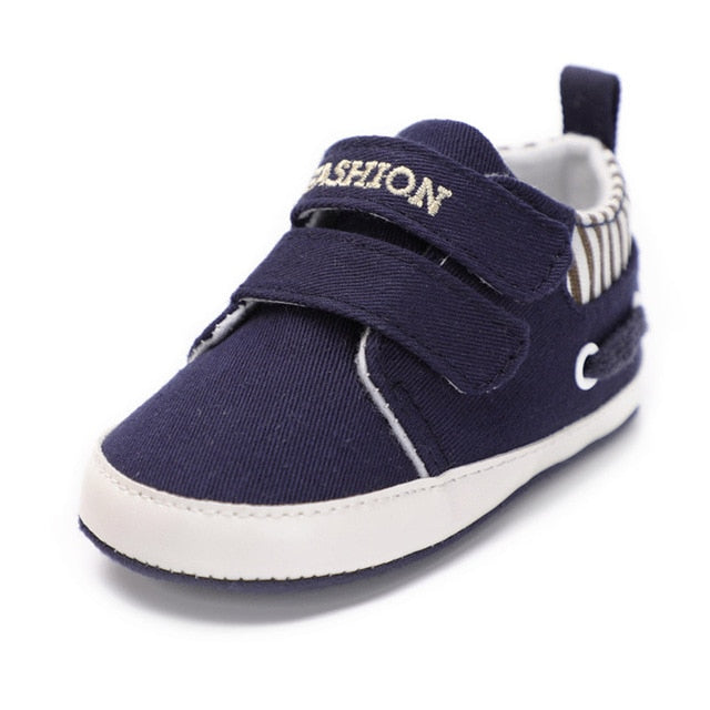 Baby/Toddler Soft Canvas Solid Shoes