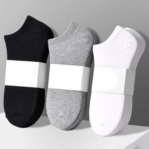 5pairs/lot Solid Color Socks