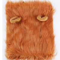 Pet Clothes Costume Lion Mane with Ear