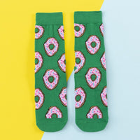 Colorful Cotton Socks Food