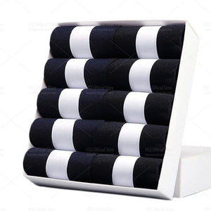 Cotton Black Business Men Socks