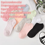 5 Pairs/Lot Cartoon Socks