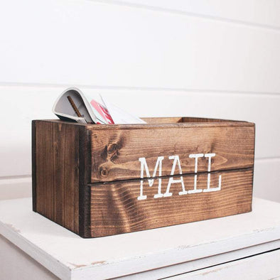 Farmhouse Mail Organizer Organization Native Range