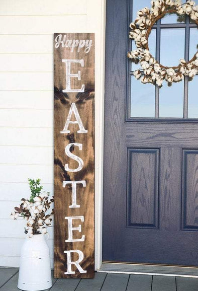 Happy Easter Wooden Sign - Native Range