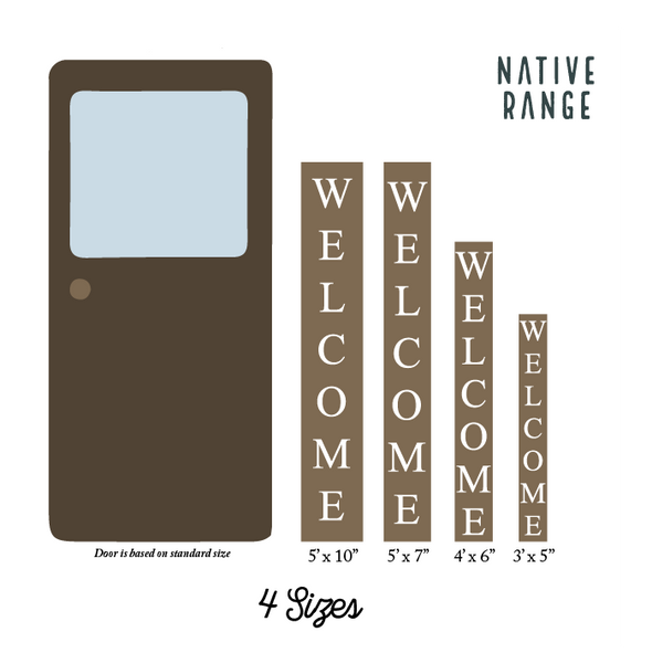 Original Welcome Sign Welcome Sign nativerange
