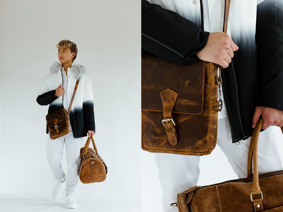 Distressed Conductor Bag