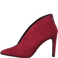 Marco Tozzi Red Zipped Heel Shoe Boot 25019-25 500