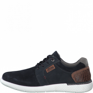S.Oliver Mens Navy Leather Casual Trainer 13631-26 805
