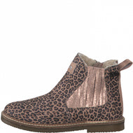 S.Oliver Kids Leopard Print Ankle Boot 36414-25 907