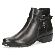 Caprice Black Heeled Ankle Boot 25309-25 022
