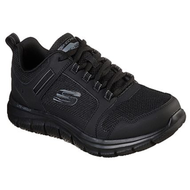 Skechers Mens Black Memory Foam Trainer KNOCKHILL 232001/BBK