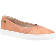 Hush Puppies Ladies Tan Leather Pump TIFFANY
