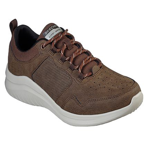Skechers Mens Tan Air Cooled Memory Foam Trainers 52779/CHOC