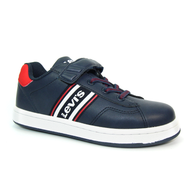 Levis Kids Velcro Trainer BRANDON Navy/White/Red