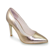 Lunar Powell II Gold Metallic Court Shoe FLC091 GD