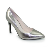 Lunar Powell II Pewter Metallic Court Shoe FLC091 PW